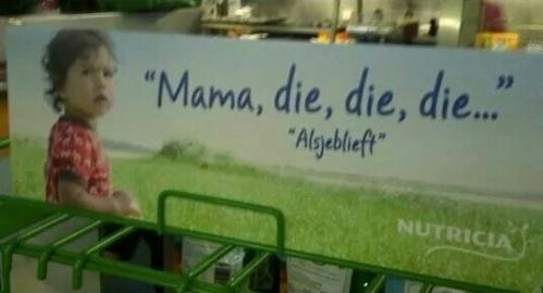 dutch die advertising