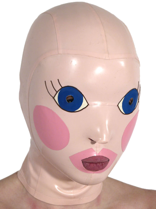 Blow Up Doll Halloween Mask