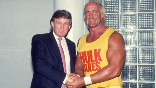Donald Trump and Hulk Hogan