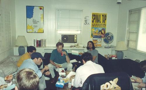 simpsons writing room