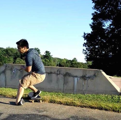 skateboard injury