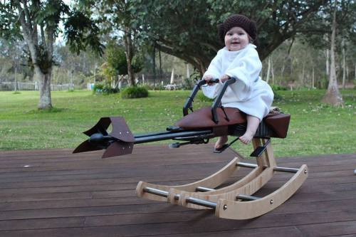 star wars rocking horse