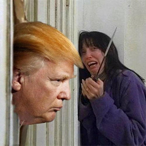 Donald Trump and The Shining