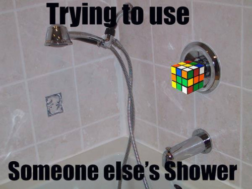 someone else's shower