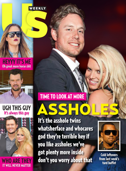 Funny Us Weekly Cover
