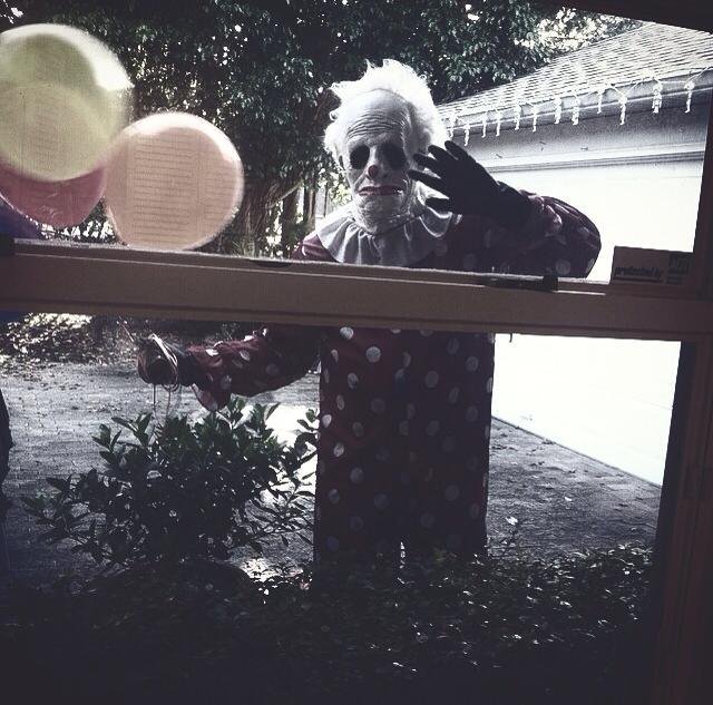 Wrinkles the Clown hides under a child's bed | Duck Duck ... House Broken Movie