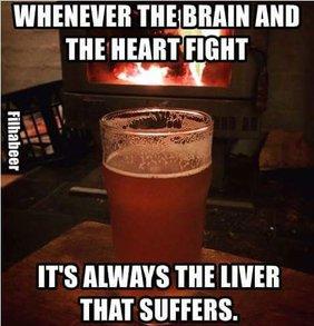 brain heart liver