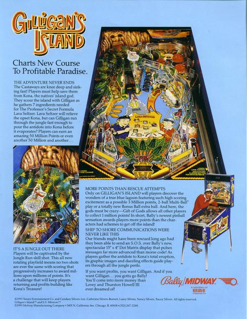 Gilligan's Island Pinball 3