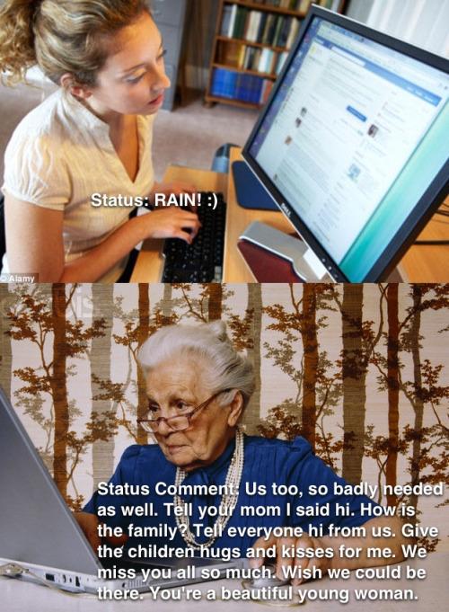 Status update true story