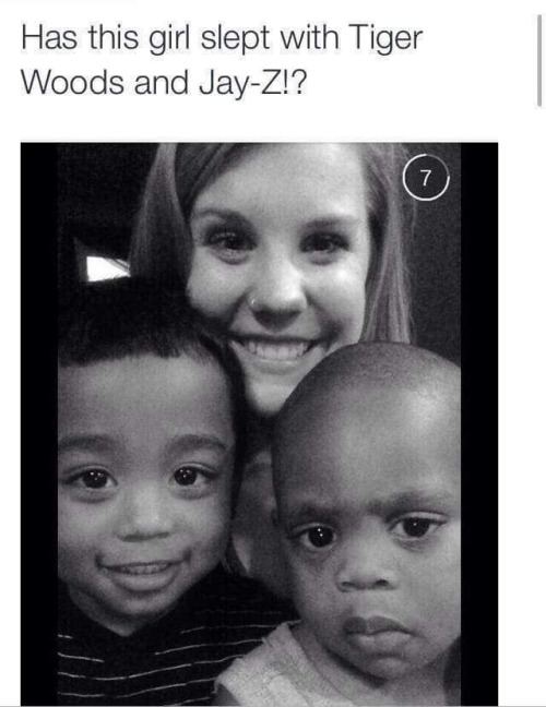 Tiger Woods and Jay-Z mom
