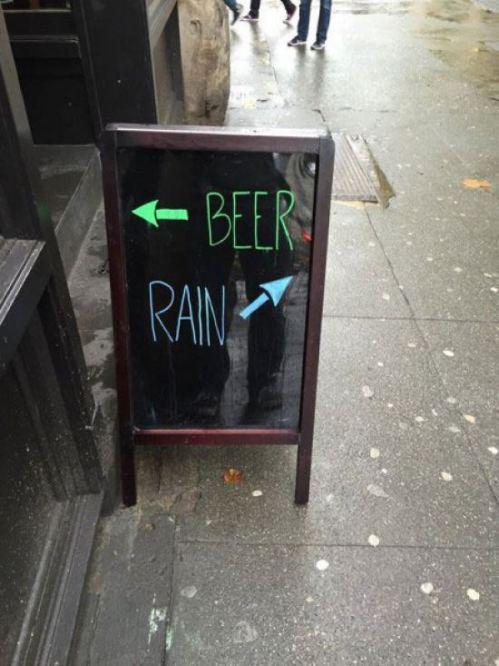 Beer or Rain