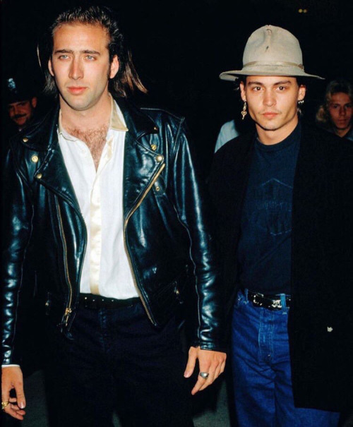 Cage and Depp