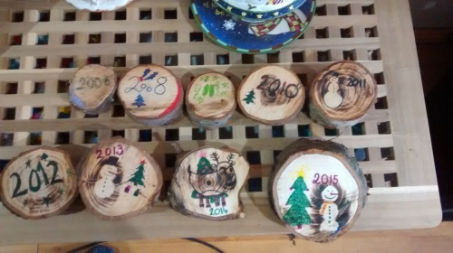 christmas tree stumps