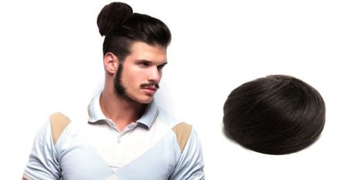 clip on man buns 2