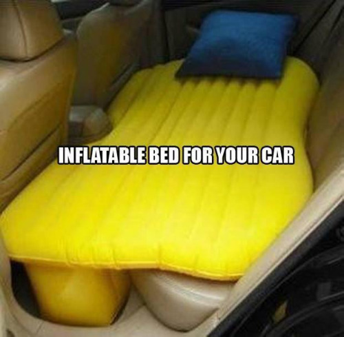 inflatable matress for car