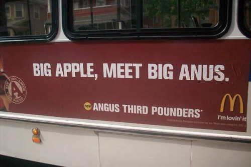 mcdonalds bus ad