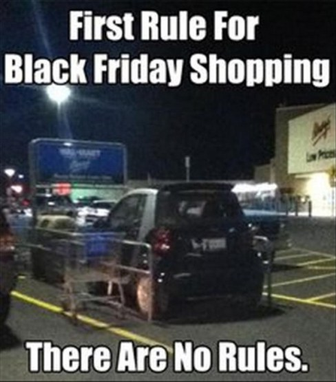 rules of black friday