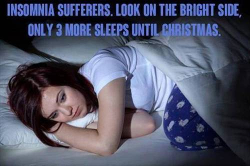 Suffering from insomnia?