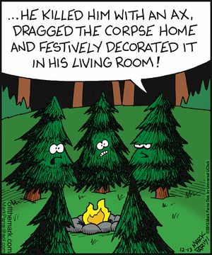 christmas tree horror story