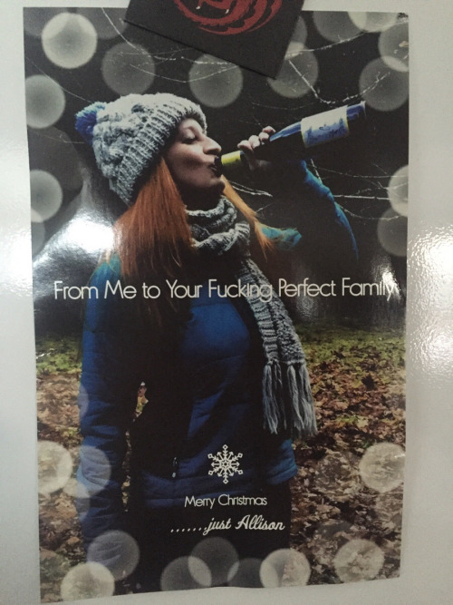 honest christmas cards