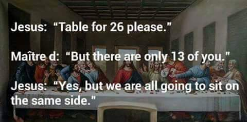 Last Supper Reservation