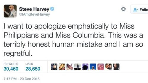 steve harvey tweet