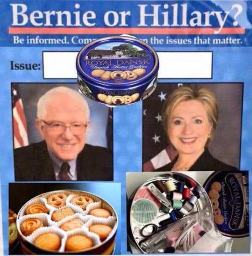 Bernie or Hillary
