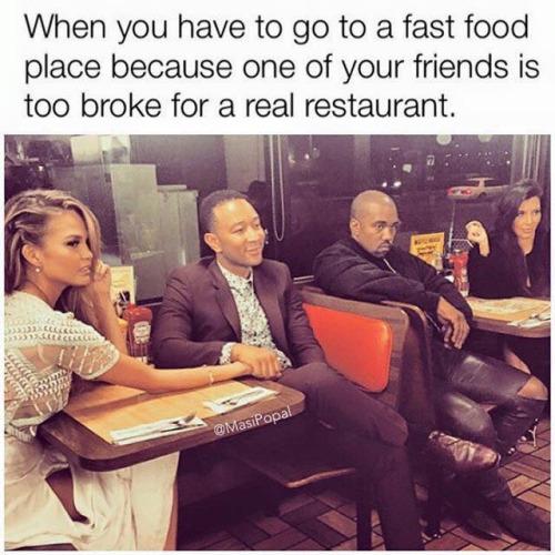 Kanye Fast Food