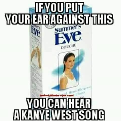Kanye West Music douche