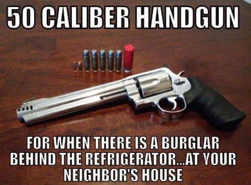 50 Caliber Handguns