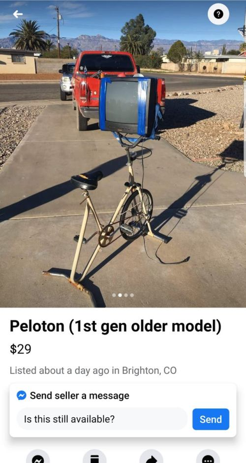 Peloton for sale