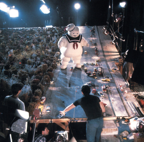 Ghostbusters On Set