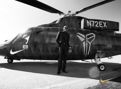 kobe bryant helicopter