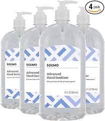Solimo Advanced Hand Sanitizer