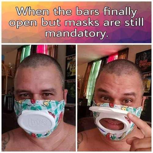 drinking masks